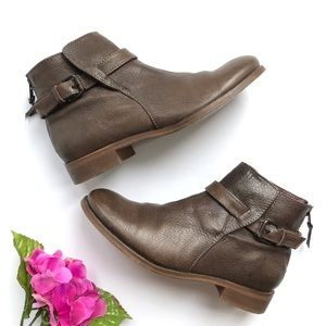 J. CREW Emmett Leather Ankle Boots 7.5